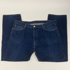 Levis 505 Jeans Sz 44x32 Regular Fit Straight Leg